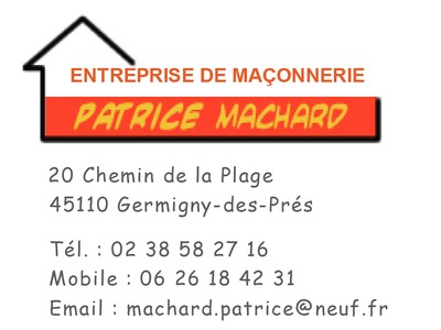 Ets MACHARD Patrice